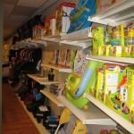 Baby Equipment Shop Shelving