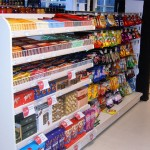 Retail Shelving in Convenience Store