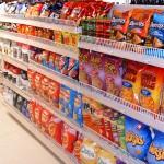 Convenience Store Crisp Display