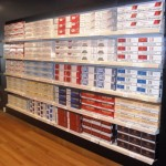 Duty Free Wall Shop Shelving