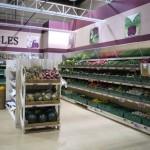Fruit and Veg Display Shelving