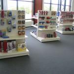 Office Supplies Store Gondola End Bay Shelving