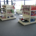 Office Supplies Store Gondola Shelving