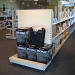 Office Supplies Store Gondola Shelving
