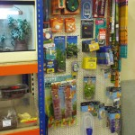 Pet Shop Pegboard and Racking