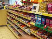 Petrol Station Confectionery Shelving