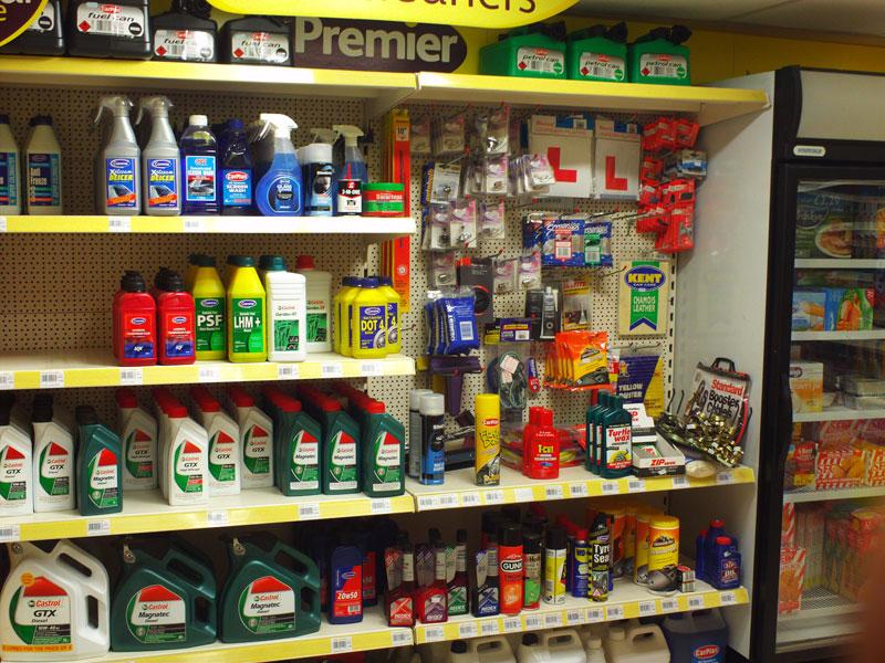 Shop Shelving in Premier Store