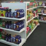 Shop Shelving in Garden Centre