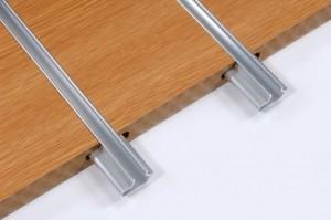 slatwall panel close up