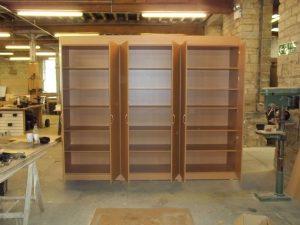 Large Wooden Storage Cupboard