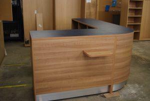Curved-Reception-Desk