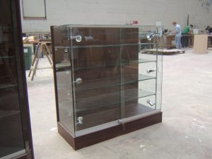 Glass Fronted and Sides Display Case
