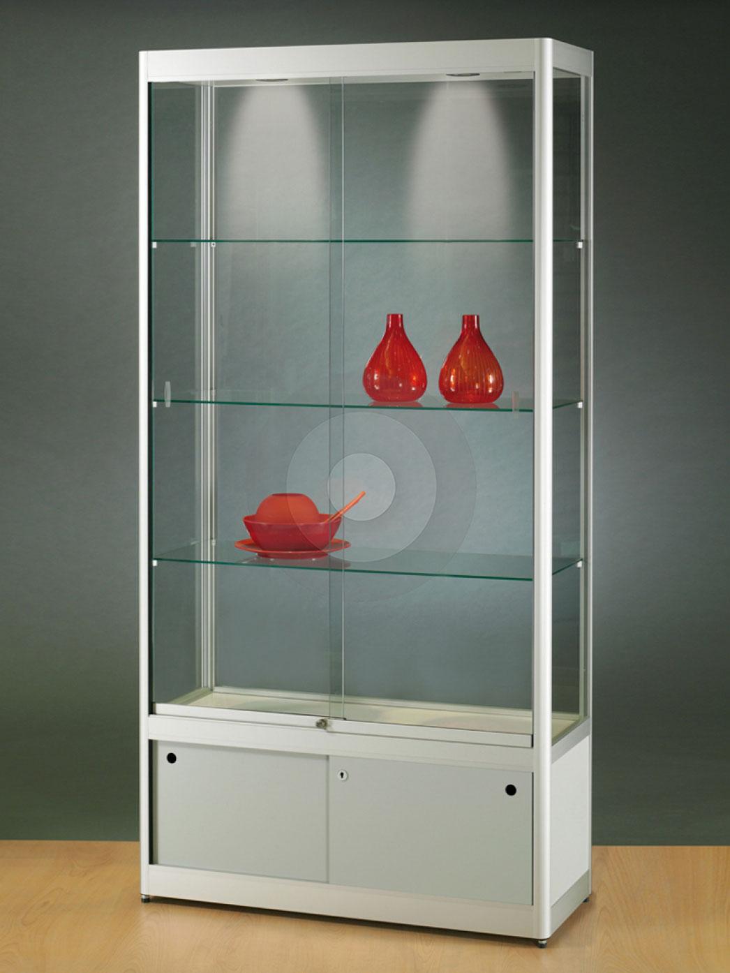 Excellent Corner Ikea Glass Display Cabinet With Lights Used Display  Cabinets With Glass Doors