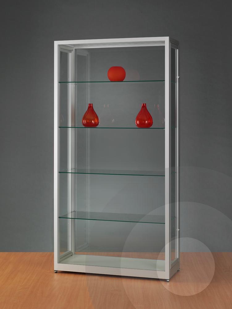 dustproof display cabinet glass showcases. Black Bedroom Furniture Sets. Home Design Ideas