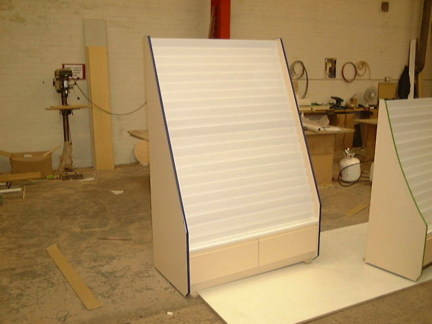 21 Tier Greeting Card Display Unit With Drawers