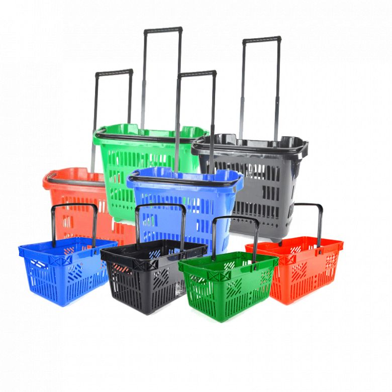 Shopping Baskets and Trolleys