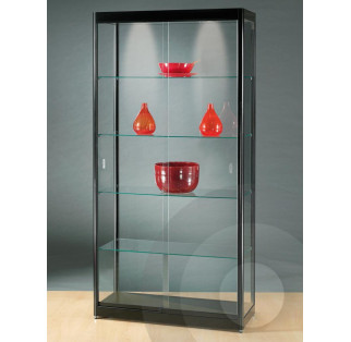 Black Display Cabinet 1000 mm