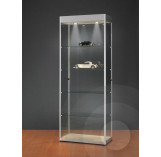 Display Cabinet with Header for logo 800mm