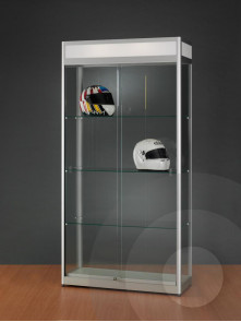 1000mm illuminated header cabinet