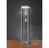 Display Cabinet with Illuminated Header 400mm