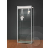 Display Cabinet with Illuminated Header 800mm