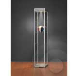 Display Cabinet with Header for logo 400mm