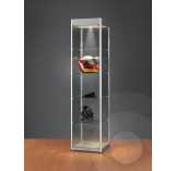 Display Cabinet with Header for logo 500mm