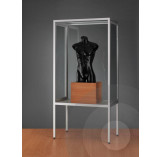 Dustproof Display Cabinet with Legs