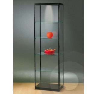 Black Display Cabinet 600 mm