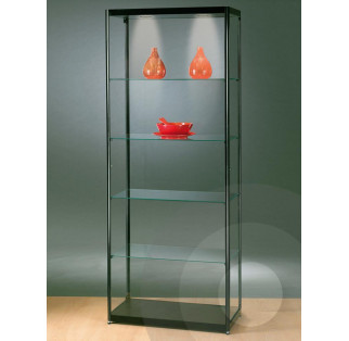 Black Display Cabinet 800 mm
