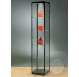 Black Display Cabinet 400 mm