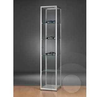 Tower Display Cabinet  with Glass Top 400 mm