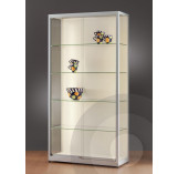 Wall Retail Display Cabinet with LED Strip Lights - 1000mm
