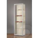 Wall Retail Display Cabinet with LED Strip Lights - 600mm