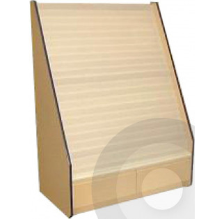 21 Tier Greetings Card Display Unit with Drawers - P Range