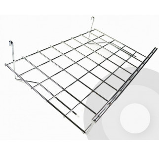 Slanting Shelf for Grid System (Box of 4)