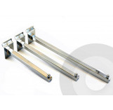 Slatwall Straight Arm Square Tube (Box of 25)