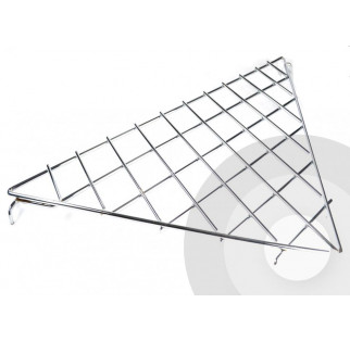 Triangular Shelf for Grid Panel System (Box of 10)