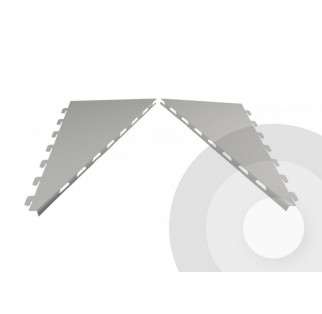 Sloping Holder Canopy Brackets End (Pair)