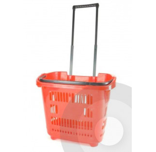 Trolley Shopping Basket - 96 Job Lot Free Delivery