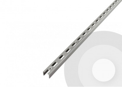 wall upright (U-Channel) for shop shelving