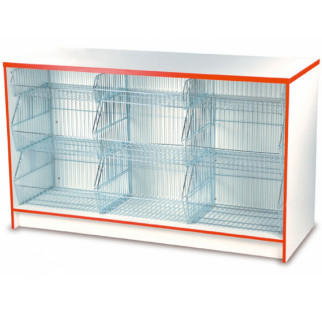 Crisp and Snack Counter with Baskets H Range