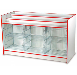 Crisp and Confectionery Counter with Baskets H Range