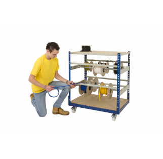 Cable Reel Storage Trolley