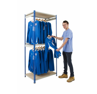 Garment Storage - Rivet Racking