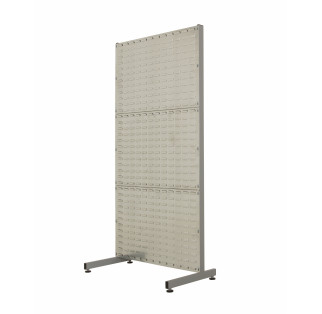 Louvre Plastic Bin Racks Single Sided