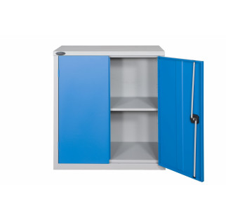 Half Height Industrial Steel Cupboard With Bins