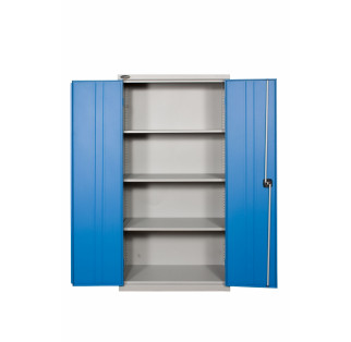 Full Height Industrial Steel Cupboard With Bins