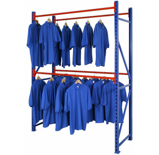 Longspan Heavy Duty Garment Rail