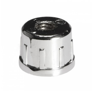 Aluminium threaded end with adjustable foot